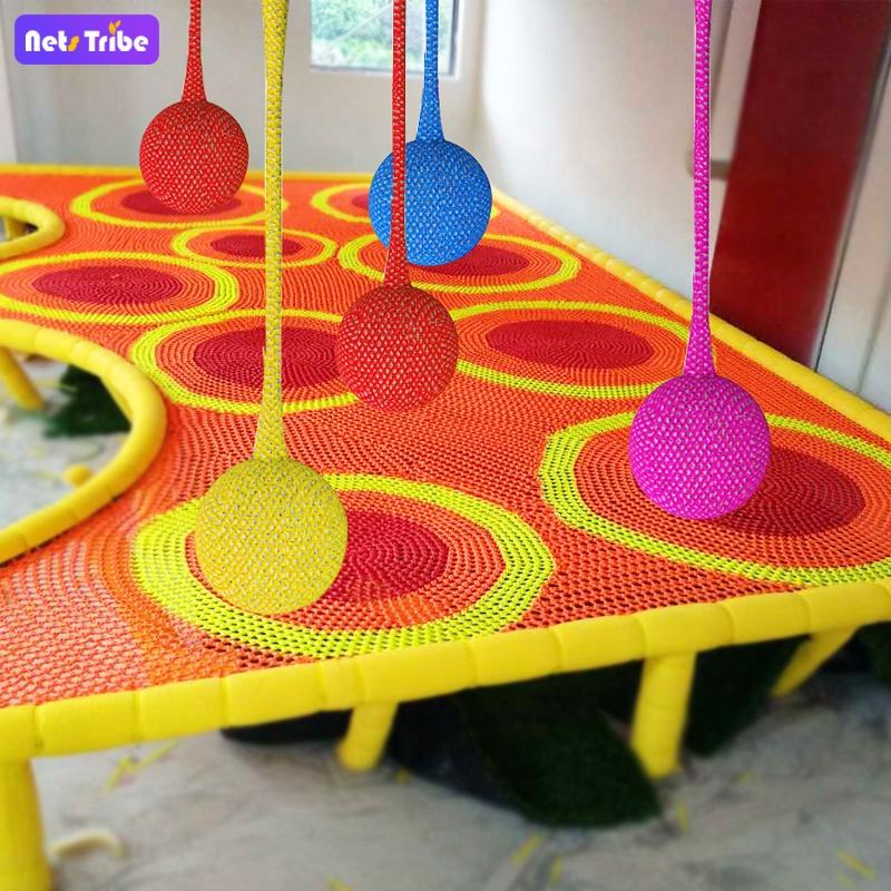 Colourful net play area for kids Other amusement park products Playhouses for kids plastic