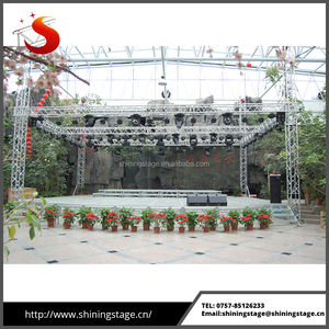 heavy duty silver sound and light truss system