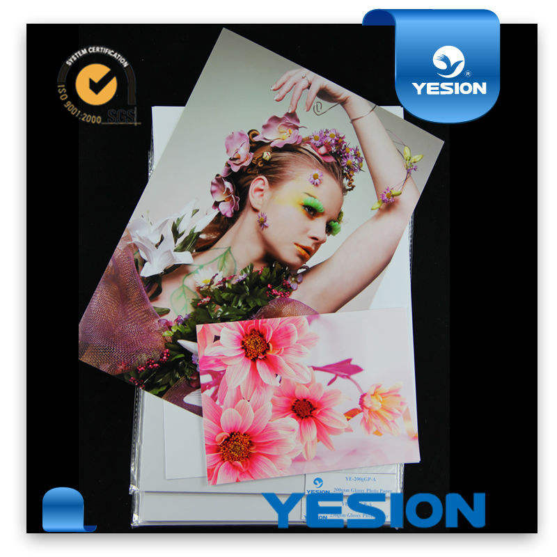 Yesion high-end dubbelzijdig glossy fotopapier voor inkjet printer