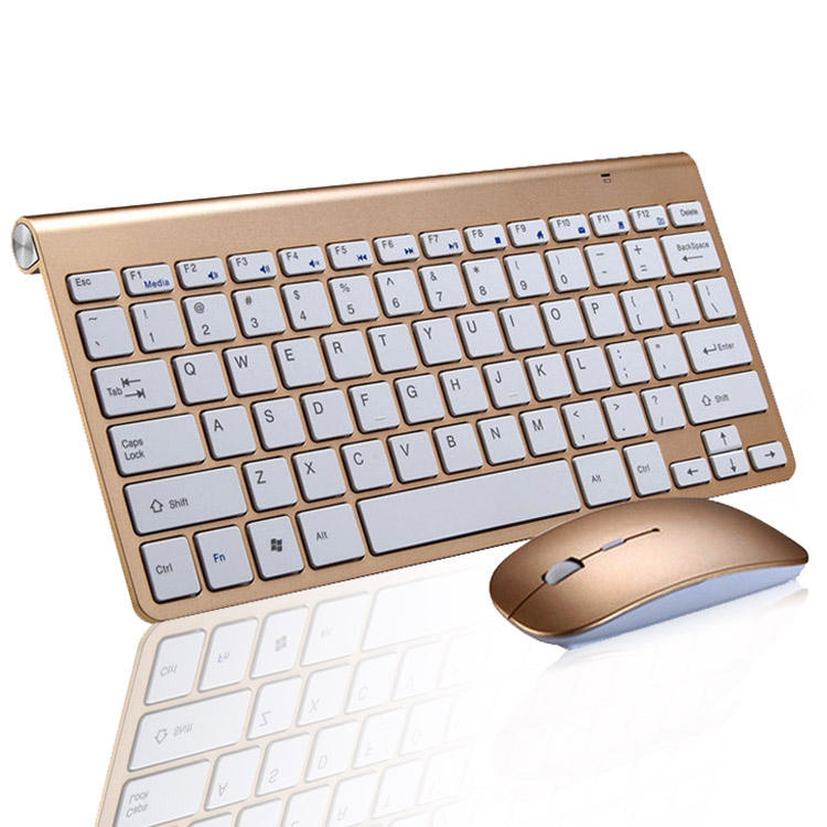 Best Seller Mini 2.4G Wireless Chiclet Keyboard, Wireless Keyboard and Mouse Combo, Long Battery Life