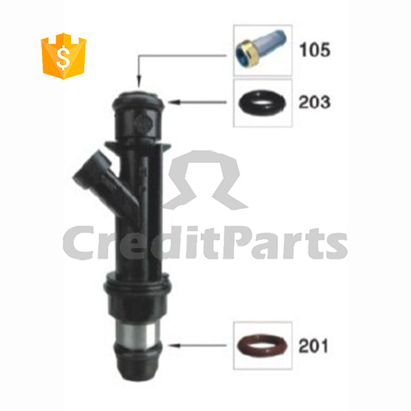 Fuel Injector Repair Kits Delphy Parts CF-007 For 17125097 25334150