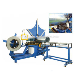 Made in china stainless steel round duct elbow forming machine in stock