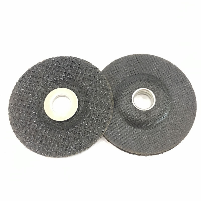 fiberglass backing pad with Higher Metal Ring used for flap discs and other abrasives.