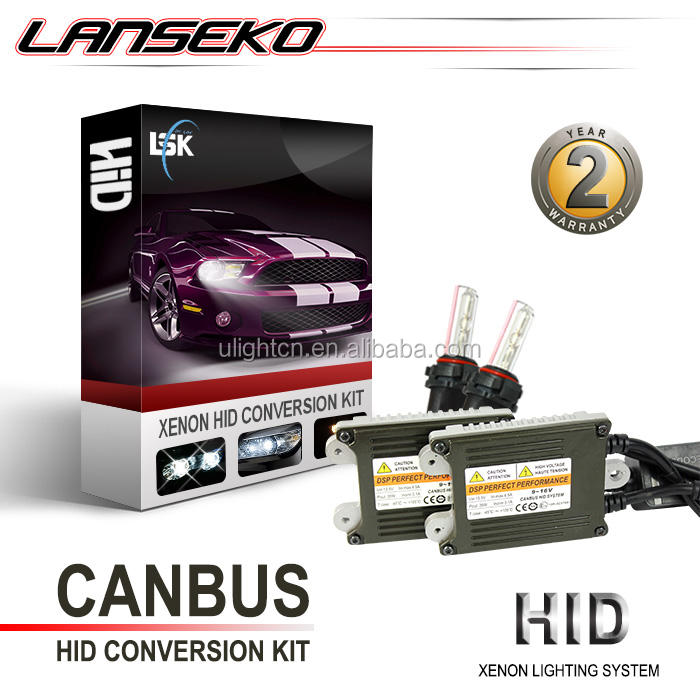 Newest arrival slim canbus pro hid ballast can solve 99% car problem 35W 55W canbus hid xenon kit