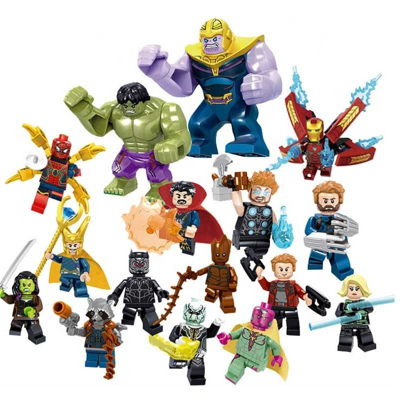 Free Shipping 34044 Supers Heros 800 pieces Marvel Supers Heros Building Block Set Legoing Toys For Children