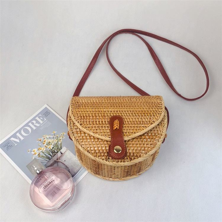 hot cake high grade bali rattan bags made of rattan from vietnam wholesale