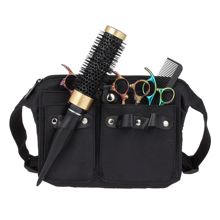High Quality Hair Cut Tool Bag for Barber with Adjustable Waist Belt