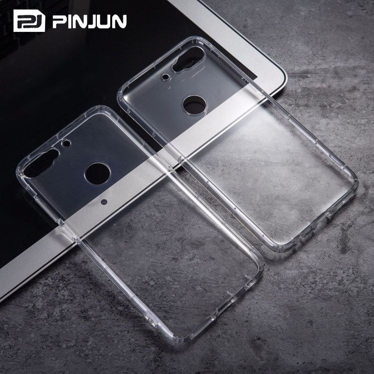 2018 clear tpu phone case for HTC Desire 12 plus shockproof protect transparent mobile back cover for HTC Desire 12 plus