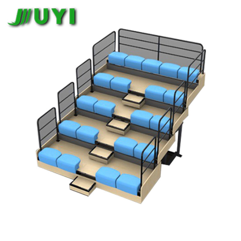 JY-750 Commercial Hot Selling Bleachers Indoor Aluminum Seating System Bench Gym