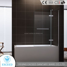 Handle hinge shower bathtub door/screen EX-232