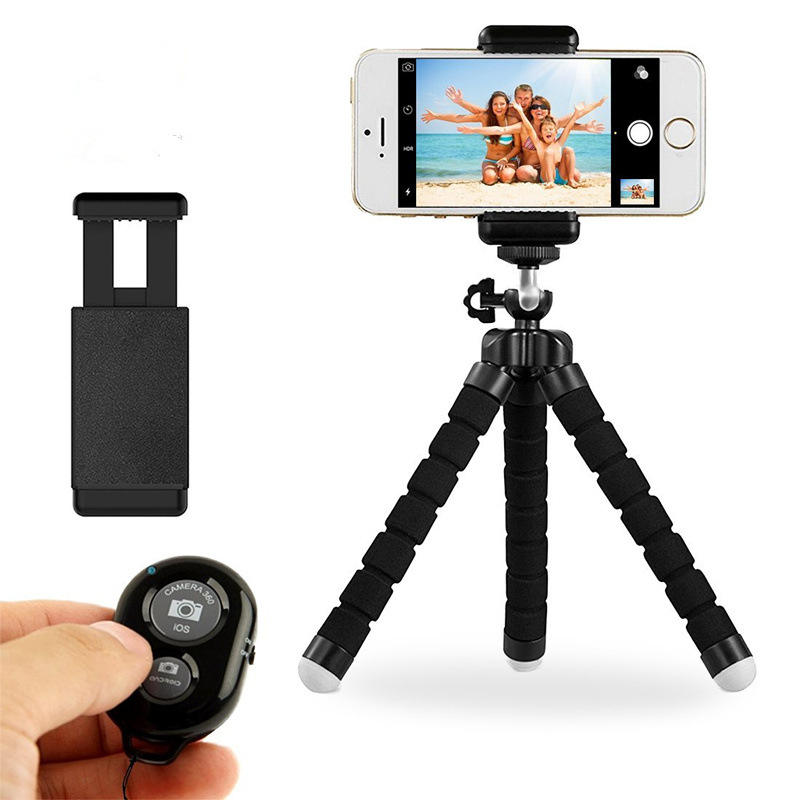 Cell Phone Tripod Stand Flexible Tripod for iPhone or Android TriFlex Mini Tripod