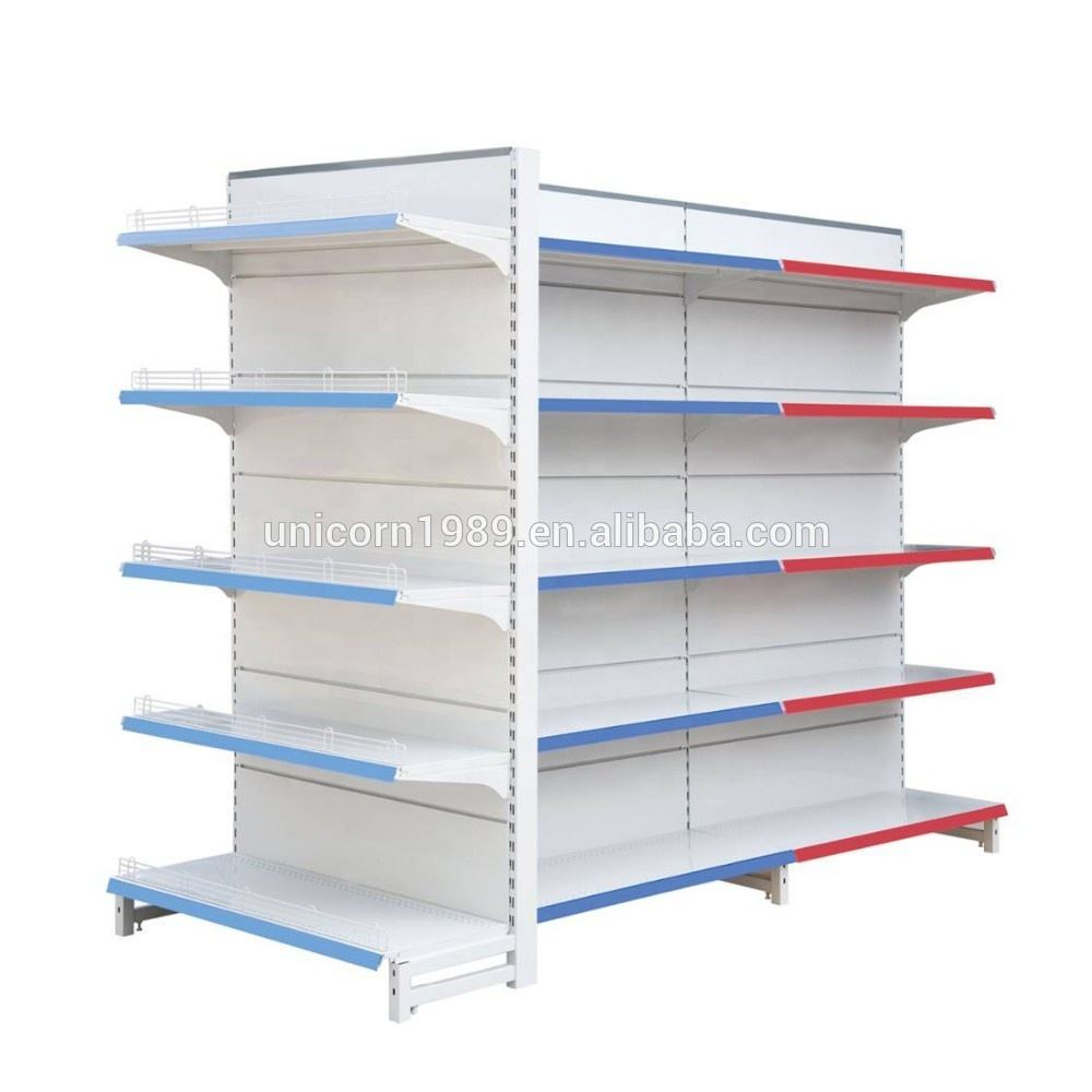 Hot sell factory price 5 layer display supermarket shelf storage shelf
