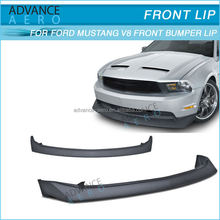 HOT SALE BODY KIT FOR 2010 2011 2012 FORD MUSTANG GT V8 BODY KIT B2 STYLE PU FRONT BUMPER BLACK POLY URETHANE