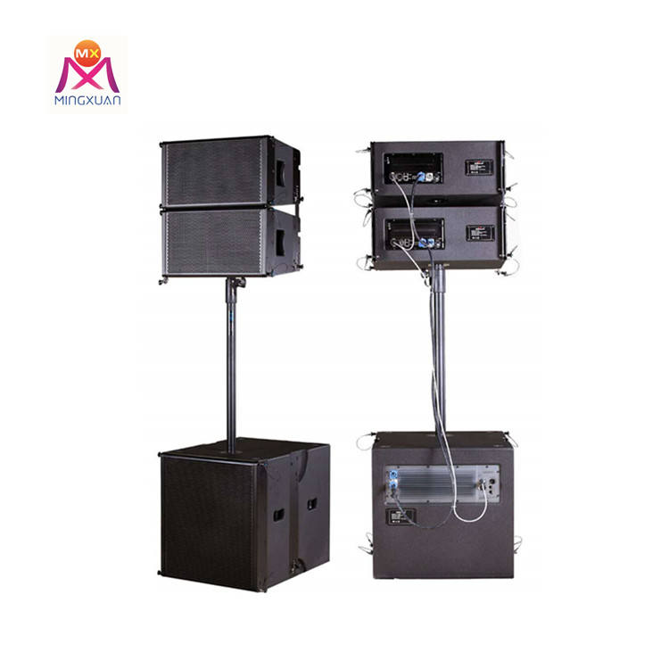 Sound System PRO Speaker Aktif 18 Inci, Subwoofer Line Array