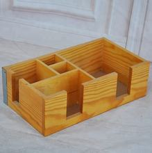 Raw materials in handicraft pine wood carving wooden holder