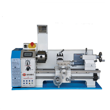 Variable speed mini lathe machine in india SP2109-II 210x400mm