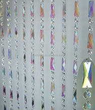 Iridescent Crystal Bead Curtain MH-12639