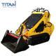 China high quality 323 mini skid steer wheel loader for sale