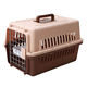 2020 Best Selling Small Animal Dog Travel Carrier Cage / Small Flight Plastic Pet Carrier With Wheels