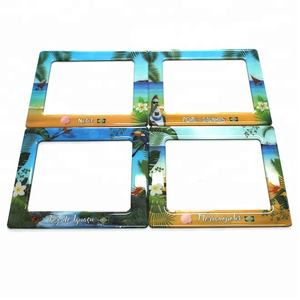 "Refrigerator Magnet Epoxy Resin Magnetic Frame 5""x7"""