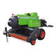 Animal husbandry square hay baler /tractor mounted straw baling machine