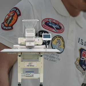 One Head 15 Color Computer Smart Embroidery Machine Price with High Quality Speed