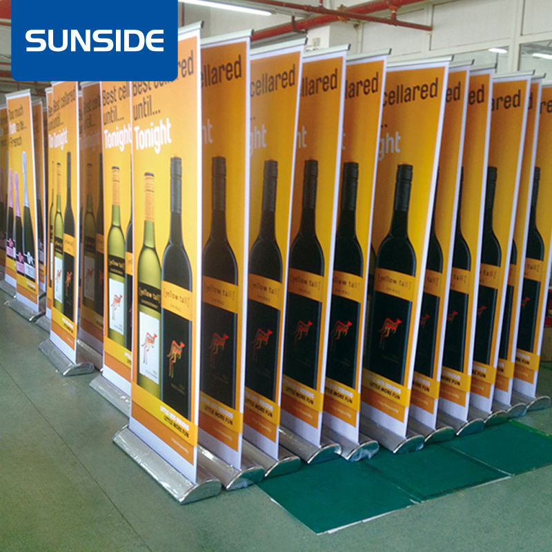 Roll up Stand Pull up Banner Stand, Updatepakketten, Roll up stand