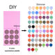 Private Label Make Up Cosmetics no brand wholesale makeup Pressed 9 Colors Matte Shimmer Glitter and Diamond Eyeshadow