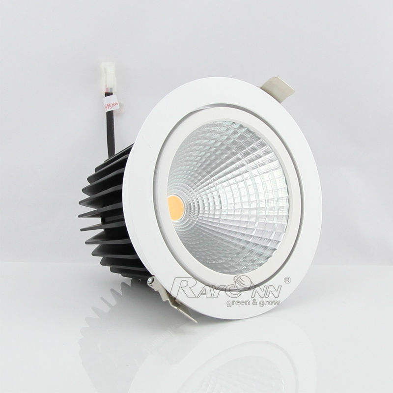 70W CDM-T replacement 40W uniform light 150mm cutout led recessed lamp cob