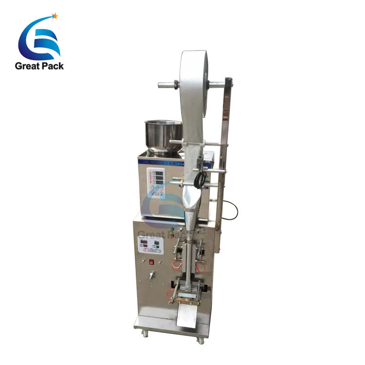 automatic particles weighing packing filling machine