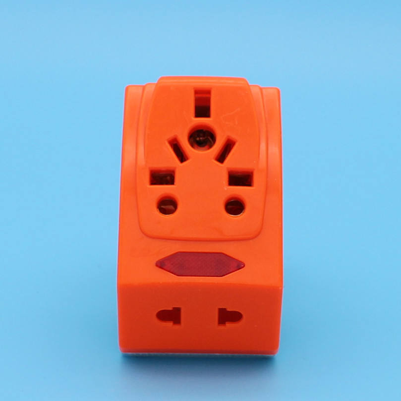 Electric plastic ceramic pin socket 13A multi universal british adapter wall plug socket