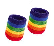 Custom Cotton Sports Basketball Sweatband Wristband Wrist Sweatband