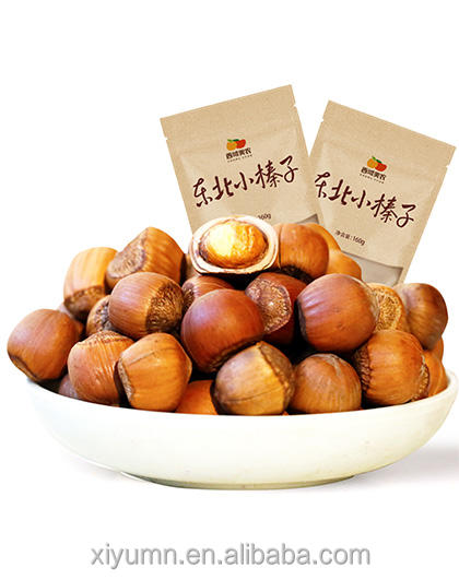 Nuts in shell roasted hazelnuts for sale