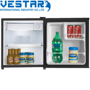 VCM Porta de Prata Mini Bar 50L Pequeno Frigorífico com Certificado Do CE