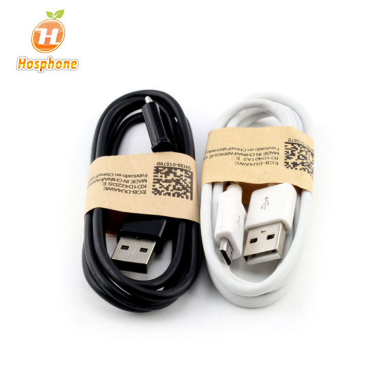 Venta al por mayor de fábrica Cable de datos Micro USB Android V8 cable de carga para Samsung Galaxy s4 s6 Cable