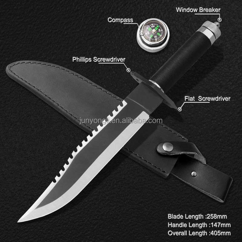 Survival Machete met kompas