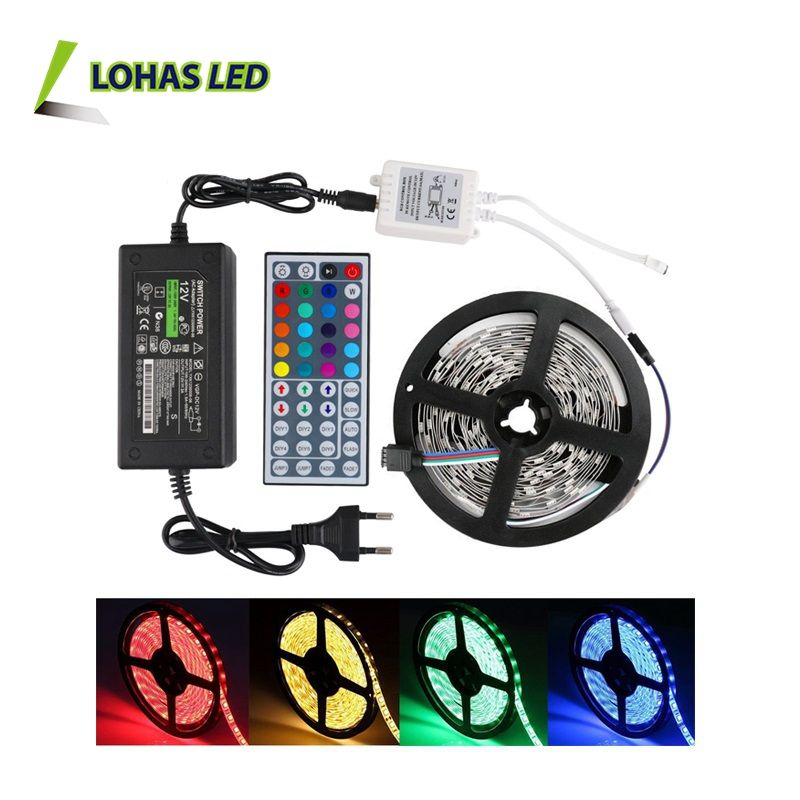 Vendita caldo SMD 5050 2835 5630 60 leds/m 5 m/roll IP65 Impermeabile 12 V flessibile RGBW RGB LED Light Strip