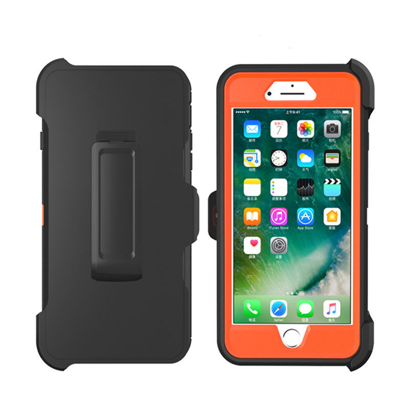 robot shockproof case for iphone Xs/X plus Xr Xs Max, for iPhone 7/8 plus defender case