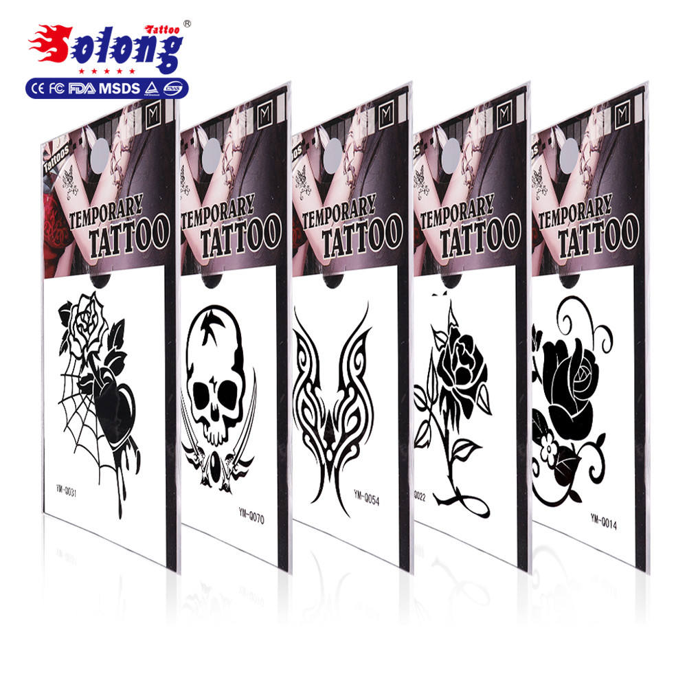 Solong Tattoo Accept Custom Designs Long Time Lasting 280 Special Design Tattoo Sticker