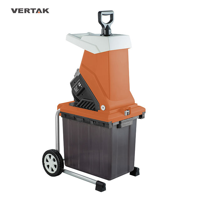 2500W 40mm cutting width garden tool electric shredder with box