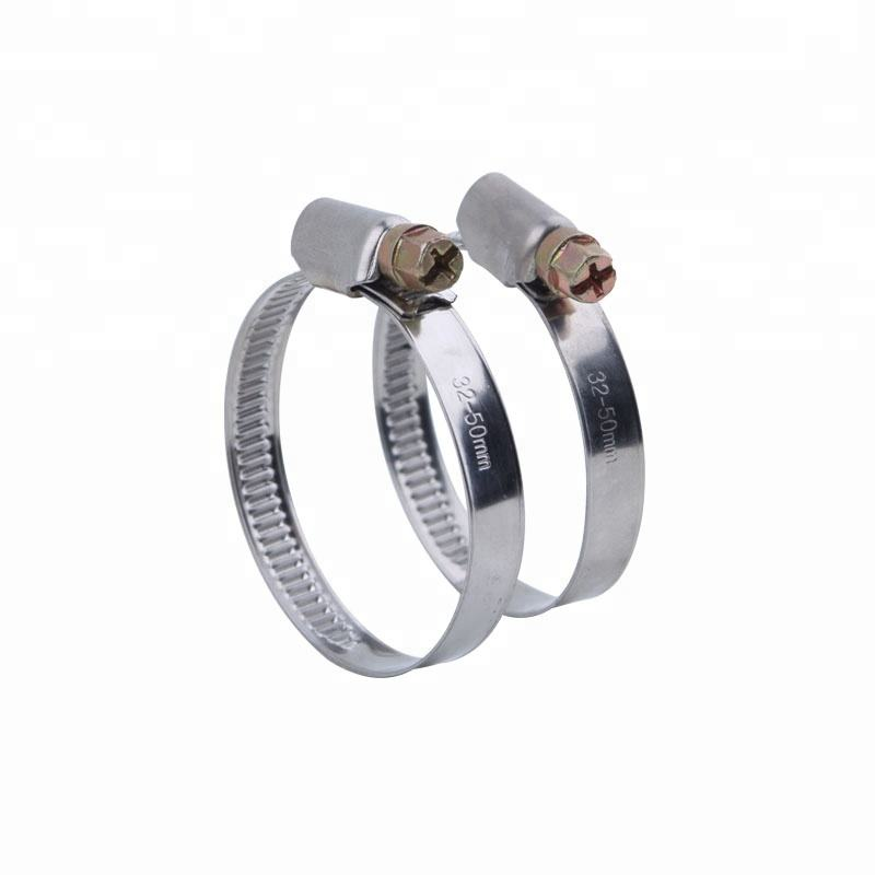 Stainless Steel Zebra Type Pipe Clip Germany Type hose Clamp
