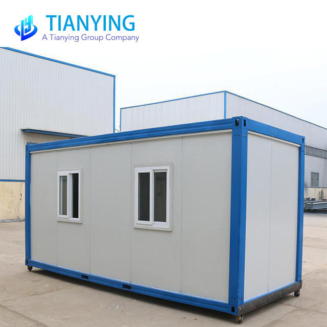 Fiber Glass Material Tiny House Standard Flat Pack Container House
