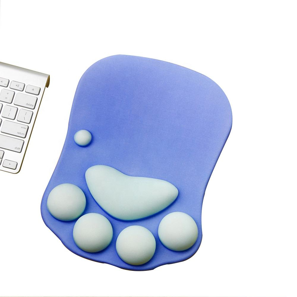 HX Hot selling OEM custom design sublimation 3D breast arm rest mouse pad