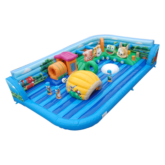 Cheer Amusement Inflatable Jungle Fun City Inflatable Obstacle