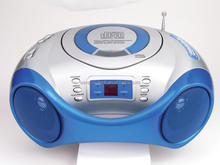 Bluetooth CD Boombox with Radio