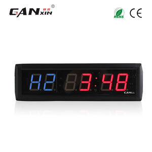 [Ganxin] Sports Timer Programmable Cross Interval 1.8 Inci Digital Counter LED Countdown Jam Dinding Count Down Gym