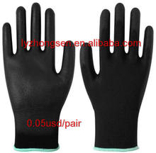 Cheap Price Pu Gloves / Coated Safty Work Nylon Gloves