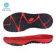 Good Quality Custom OEM Double Colors Man Soft Elastic Sandal Shoe TPR Outsole Thin Sole