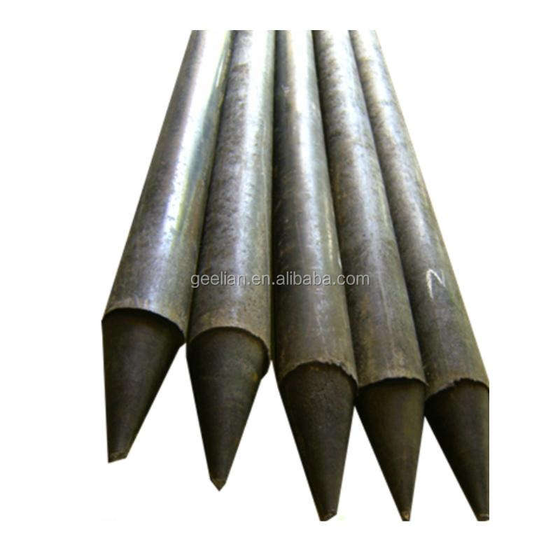 China Manufacturer new products solid black plastic stakes for animals fencing