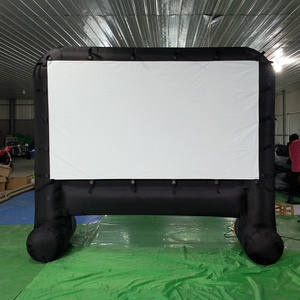 Blow Up Inflatable Movie Projection Screen outdoor projector screen